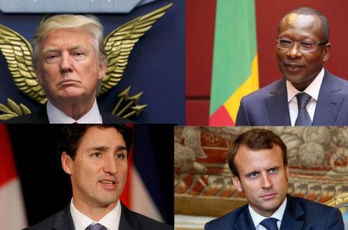 Article : Renouvellement touts azimuts de la vieille classe politique mondiale
